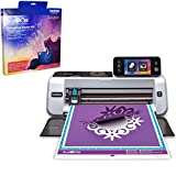 Brother ScanNCut2 Home and Hobby Cutting Machine with Rhinestone Trial Kit (CM350R)