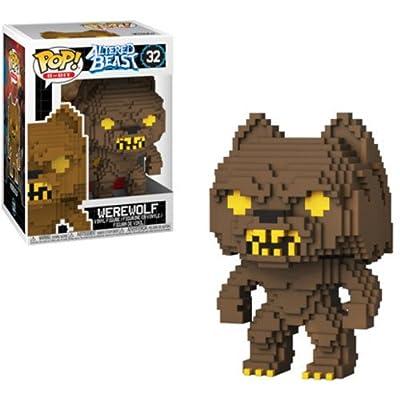 Funko Pop 8 Bit: Altered Beasts - Greek Warrior (Werewolf) Collectible Figure, Multicolor: Toys & Games