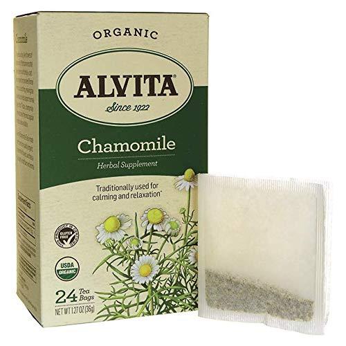 Alvita Tea herbal Chamomile Organic, 24 ct