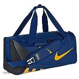 nike brasilia 6 duffel bag blue - Nike Alpha Adapt Crossbody Duffel Bag Small (455 Deep Royal/Black/Univ Gold)