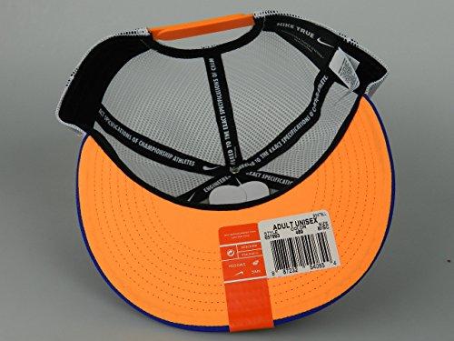 big sale 7347c 60c1c Nike Air Max 93 QT S+ Mens Blue Orange Trucker Mesh Hat 657993 489