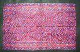 Asian Vintage Textile Art Antique Applique Embroidery 100% Ethnic Needlework #139(I)
