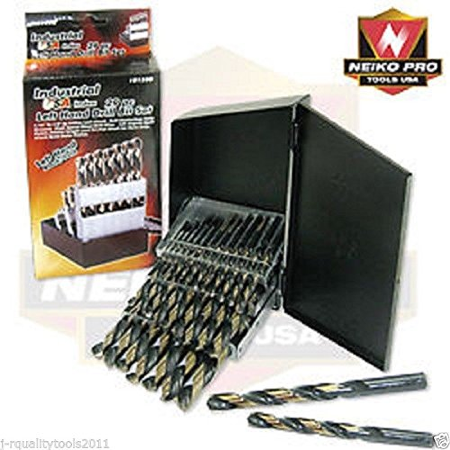 Industrial USA Index 29pc Left Hand Drill Bit Set Bolt Stud Pipe Screw Extractor