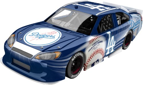 [Los Angeles Dodgers Major League Baseball Diecast Car, 1:64 Scale Hardtop] (Scale Baseball)