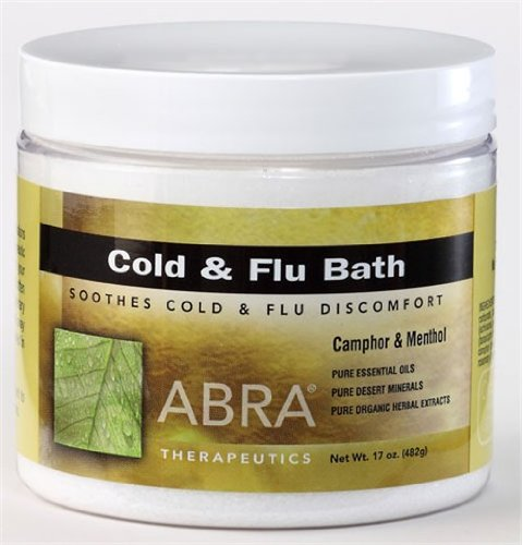 Mineral Bath Cold and Flu 17 Ounces