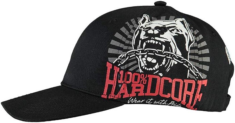 100% Hardcore - Gorra de béisbol - para Hombre Negro Negro Talla ...