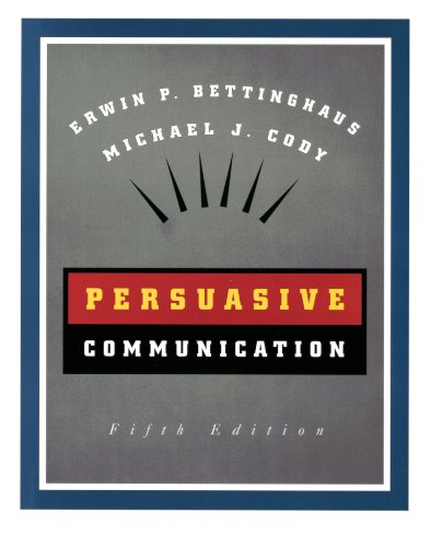 Persuasive Communication