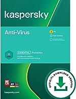 Kaspersky Anti-Virus 2021 | 3 Devices | 1 Year | PC