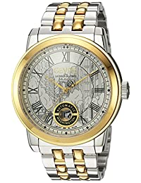 Gevril Men's 'Washington' Swiss Automatic and Stainless Steel Casual Watch, Color:Two Tone (Model: 2623B)