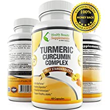 * EXTREME TURMERIC CURCUMIN WITH 95% CURCUMINOIDS & BIOPERINE * Ultra Advanced 100% Natural Formula – Best Inflammatory Organic Capsules – Dr Rated Dietary Supplement