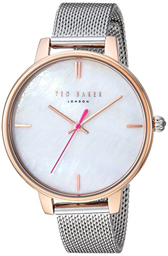 Ted Baker Women's 'KATE' Quartz Stainless Steel Casual Watch, Color:Silver-Toned (Model: TE50272008)
