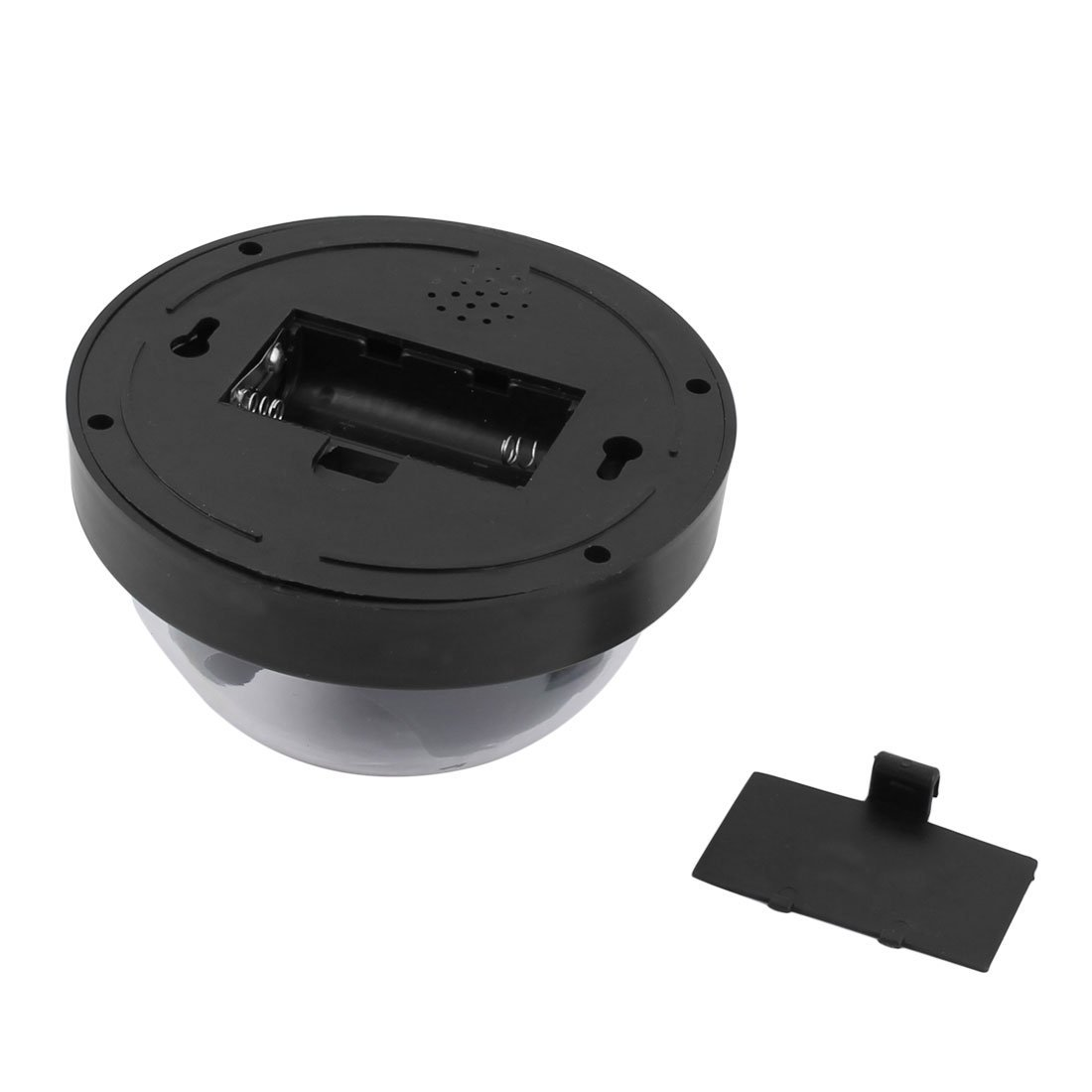 Amazon.com : eDealMax plástica de la bóveda en Forma de cubierta al aire Libre de la batería Desarrollado luz roja intermitente cámara de seguridad falso ...