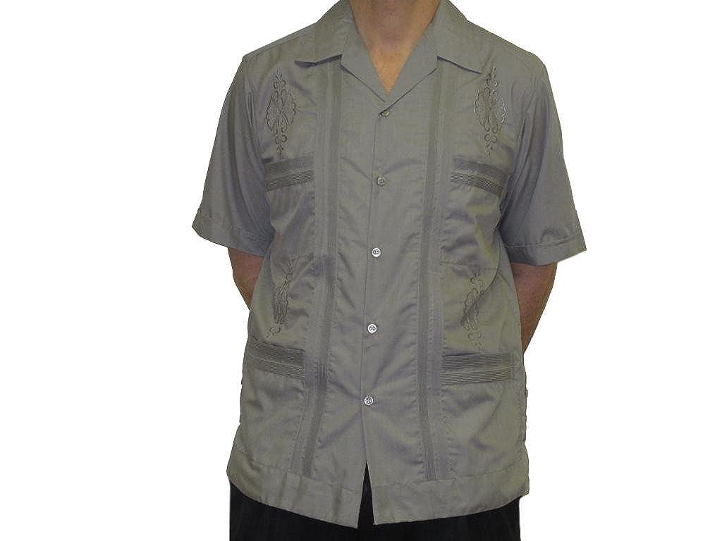 Short Sleeves Mens Original Authentic Guayabera Shirt