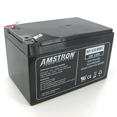 Amstron 12V/14AH Deep Cycle SLA Battery - F2 Terminal