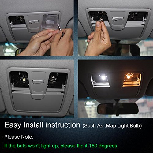 NAKOBO-Super-Bright-31mm-Festoon-Led-Bulbs-6500K-White-Light-6-SMD-5730-Chipsets-Canbus-Error-Free-for-3175-DE3175-DE3021-Car-Interior-Dome-License-Plate-Door-Lights-Pack-of-4
