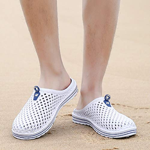 Mens Womens Hole Shoes Beach Sandals Hollow Out Casual Breathable Lightweight Slippers Flats Water Shoes by PXiong (Image #2)