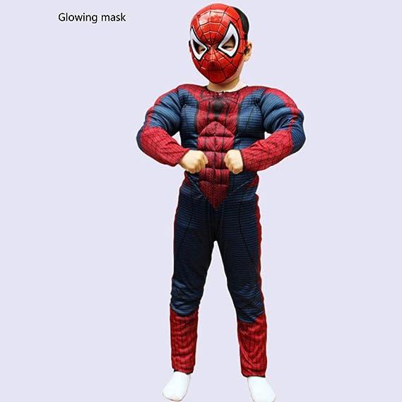 BLOIBFS Spiderman Cosplay Disfraces Y Accesorios Músculos ...