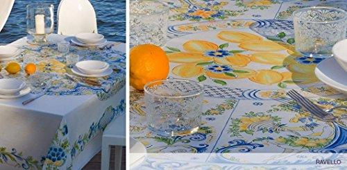 Mirabello Tavola Italiana Ravello Pattern Tablecloth 63 Inch X 90