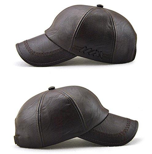 Deep bordados hombres Coffee beanie béisbol los de béisbol sombreros gorra tipo gorra de invierno de hombres de Gorro invierno negro de de de HBqg1vH
