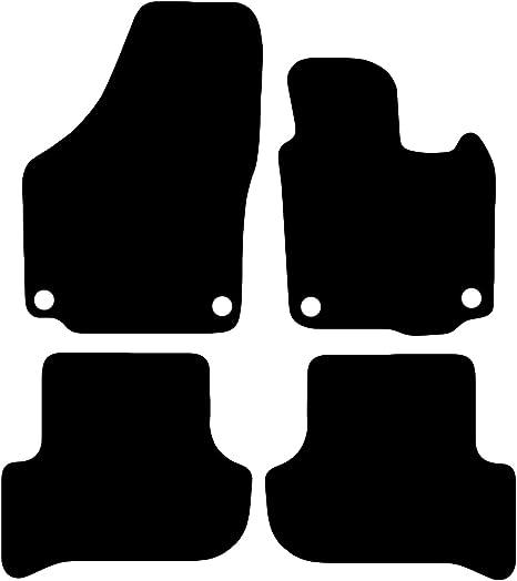 Carsio Lot de 3 Tapis de Voiture sur Mesure en Caoutchouc avec 2 Clips pour Citro/ën C4 Picasso 2013 /à 2018