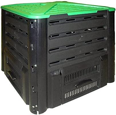 Belli 0887 4 ComposFast - Compostador, Color Negro y Verde