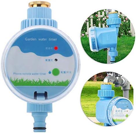 AYUSHOP Automatischer Digitaler Wassertimer, Digitaler Wassertimer Wi-Fi-Fernbedienung Automatische Gartenbewässerung Timer, ideal zur Blumenbewässerung, Rasenbewässerung usw
