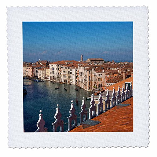 3dRose Danita Delimont - Italy - Rooftop view of the Grand Canal ...