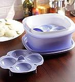 Tupperware Multicook container (5.5 IN, Purple)