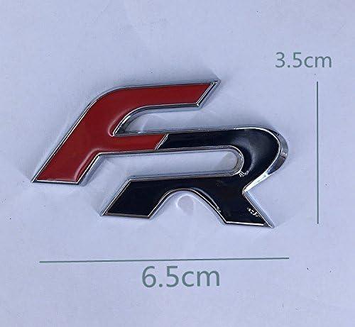 1 paio decorazione auto metallo metallo adesivo adesivo sportivo metallo auto emblema emblema per auto moto adesivo