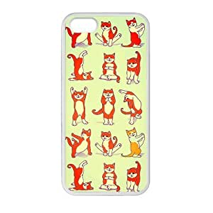 diy zhengDIY Design Funny Cats Pattern-Protective TPU Cover Case for Ipod Touch 5 5th // (Laser Technology)case Perfect as Christmas gift01
