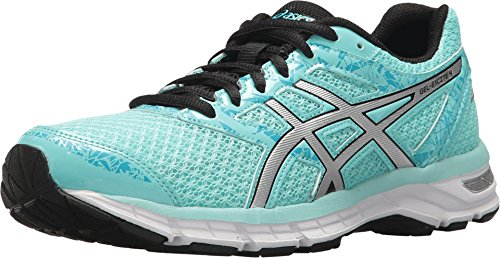 ASICS Gel-Excite 4 Women's Running Shoe, Aruba Blue/Silver/Aquarium, 8 M US (Best Motion Control Running Shoes For Flat Feet)