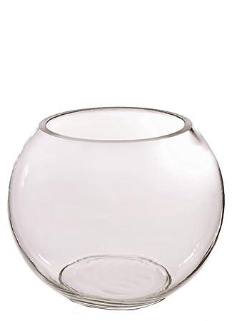 Jarrón de cristal transparente para pecera de Homestreet para mesa de boda, en muchos tamaños diferentes, 30: Amazon.es: Hogar