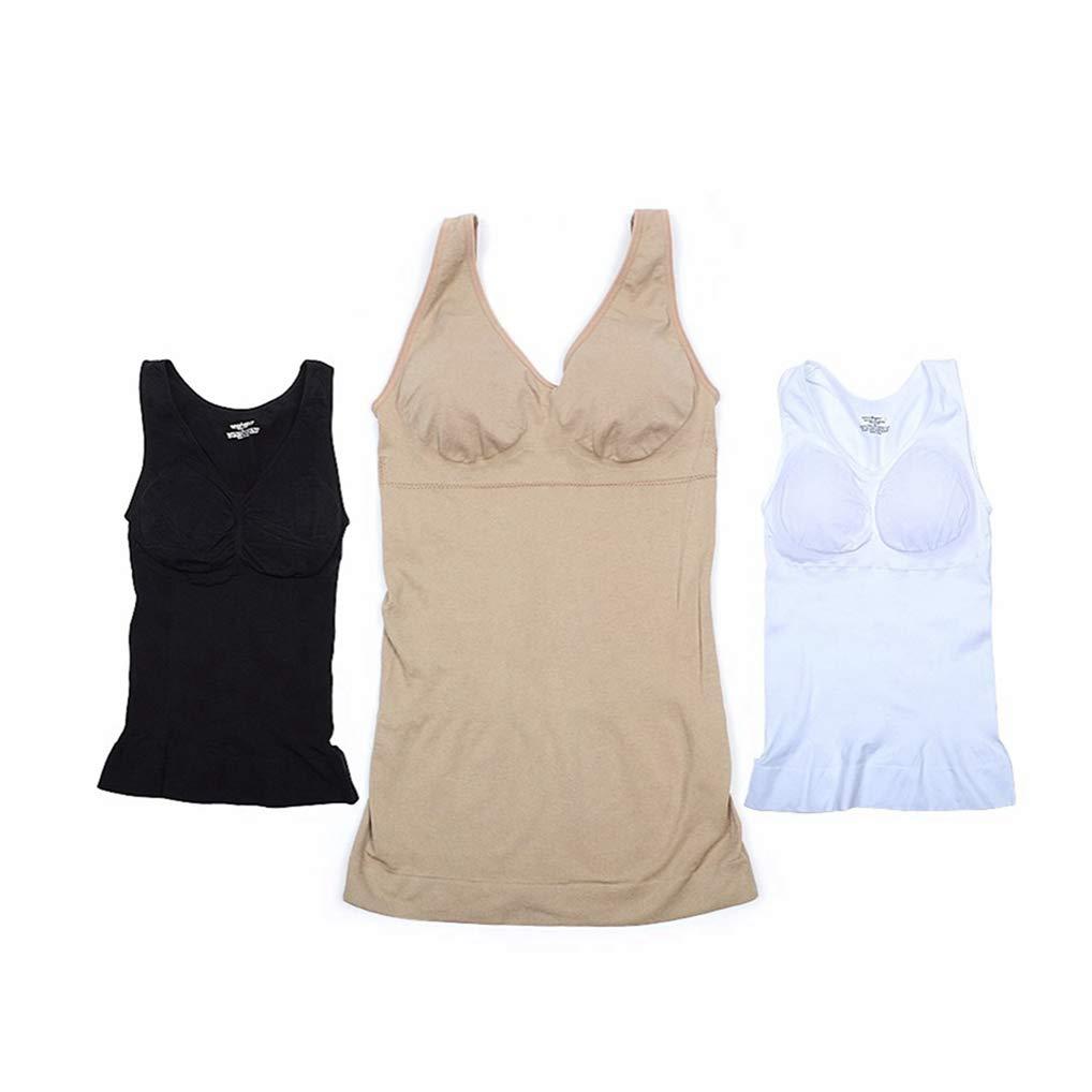 August Jim Slimming Underwear Waist Trainer Modeling Strap Shaper Corset Thin Tank Top