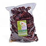 Whole Sun Dried KASHMIRI MIRCH Red Chillies Chili Peppers Spices 200g