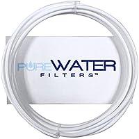 1/4 Water Line Tubing - 10 Feet Long, use for Keurig Hookup - White