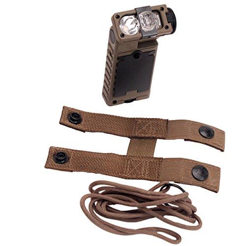 Streamlight 14065 Sidewinder Rescue Flashlight with White C4, Green, Blue and IR (Streamlight Sidewinder Tactical Flashlight)