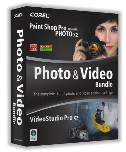 Corel Paint Shop Pro Photo X2 Ultimate & VideoStudio Pro X2 Bundle [OLD VERSION] from Corel