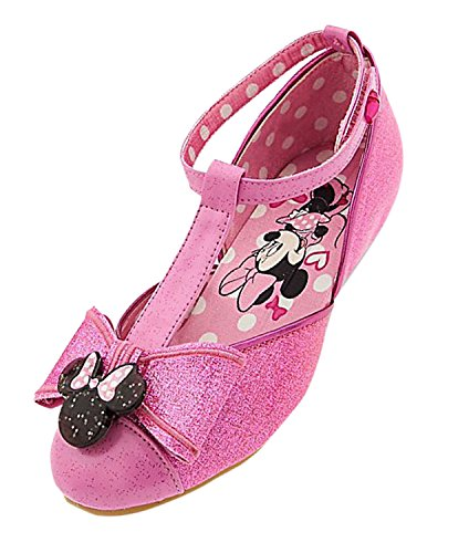 Disney Minnie Mouse Costume Shoes for Kids Size 7/8 Toddler