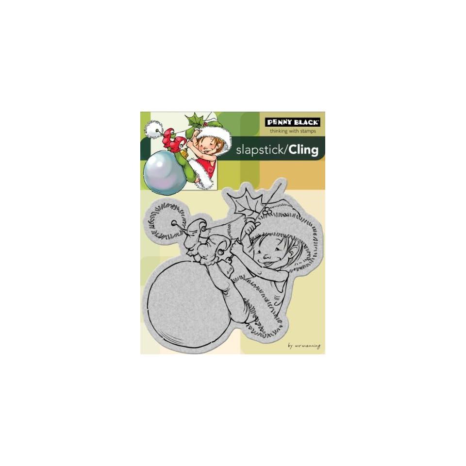 Penny Black Cling Rubber Stamp 4X5.25 Little Elf Finn