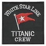 "Titanic Crew (White Star Line) Patch 7.5CM X 7.5CM (3"" X 3"")"