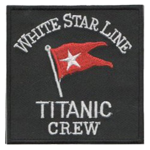 "Titanic Crew (White Star Line) Patch 7.5CM X 7.5CM (3"" X 3"")"