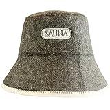 DIY - Sauna Hat - incl. Sauna e-Book – Sauna label – 100% Cotton – Felt Sauna Cap