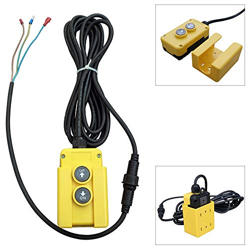 3 Wire Dump Trailer Remote Control Switch for Single-Acting Hydraulic