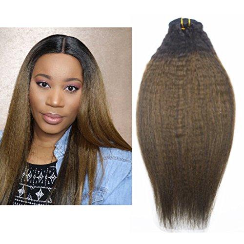 Hair Extensions Brazilian Human Hair Clip in Hair Extensions