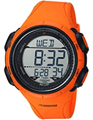 Armitron Adventure Mens AD/1013ORG Digital Chronograph Orange Resin Strap Watch