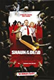 Shaun of the Dead Movie Poster Double Sided Original 27x40