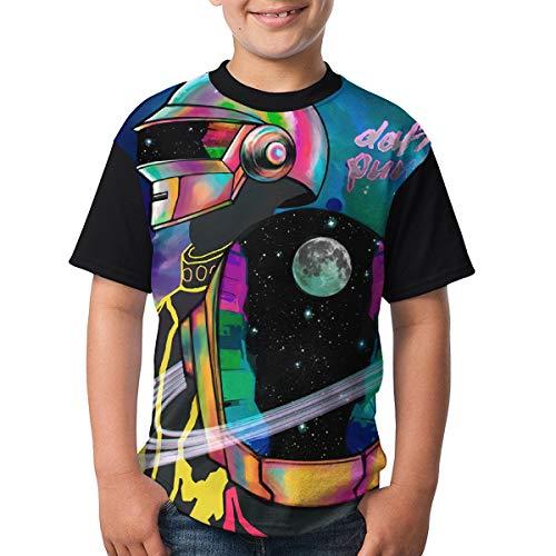 Kangtians Teenagers Boys Daft Punk Shirts Tee Childrens Shirt