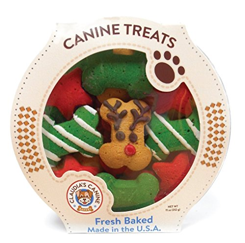 Claudia's Canine Bakery -  Reindeer Wonderland Dog Treats - 10 Ounce