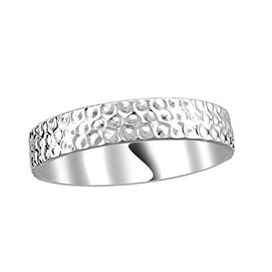 5b09ca4f9b Diti Day of Love Platinum Love Band for Him: Amazon.in: Jewellery