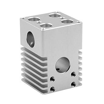 Hillrong - Kit de 4 boquillas extrusoras de aluminio para ...